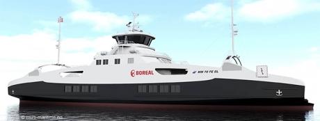 La BrДѓila se fac feriboturi 100% electrice care vor merge prin fiordurile din Norvegia