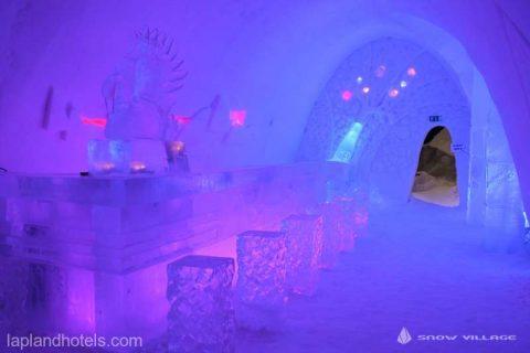 """Un hotel de gheaţă inspirat din seria """"Game of Thrones"""" a fost deschis în Finlanda"""