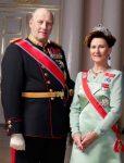 Regele şi regina Norvegiei, 50 de ani de căsnicie