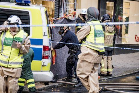 Alarma provocată de o pulbere suspectă într-un cartier din Stockholm