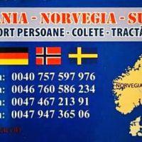 Transport Norvegia Romania si retur